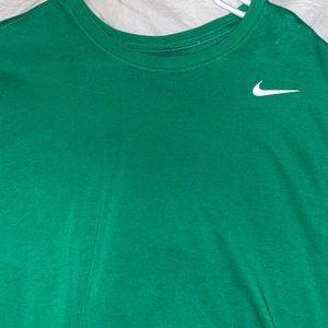 Green Nike T Shirt